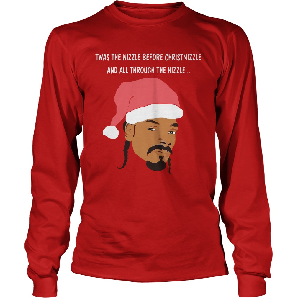 Snoop Dogg Christmas Longsleeve tee