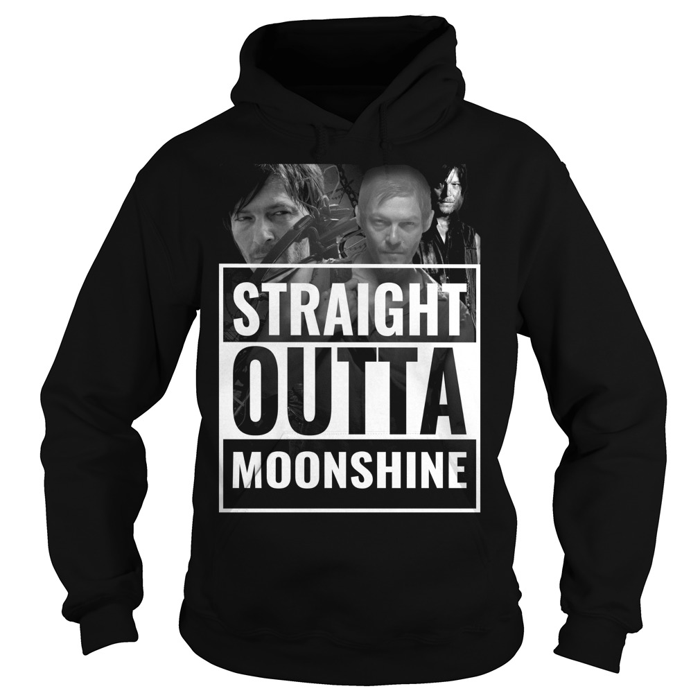 Straight outta moonshine Hoodie