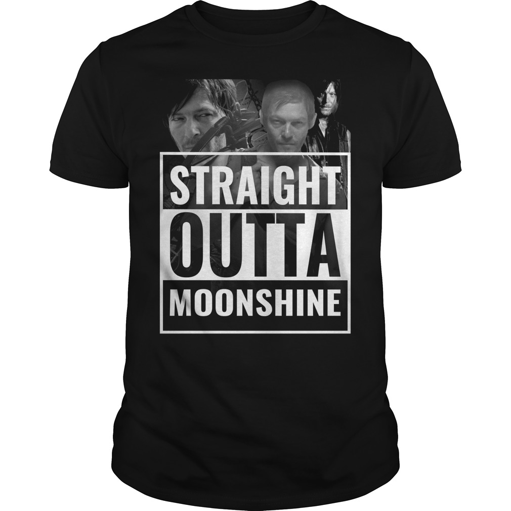 Straight outta moonshine shirt