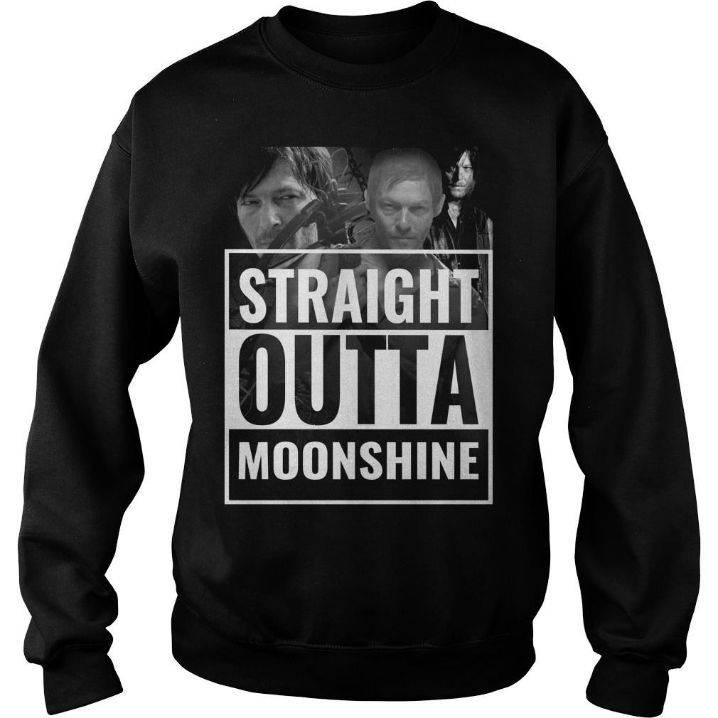 Straight outta moonshine Sweater