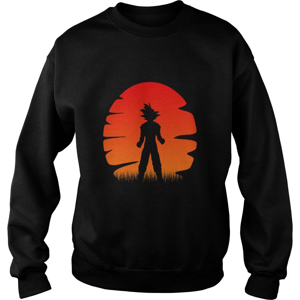 The sunset of super saiyan Sweater