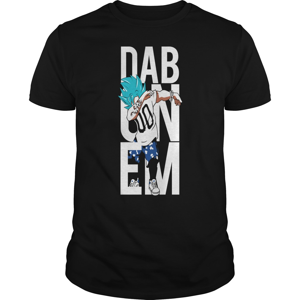 Super Saiyan Goku God Dab shirt