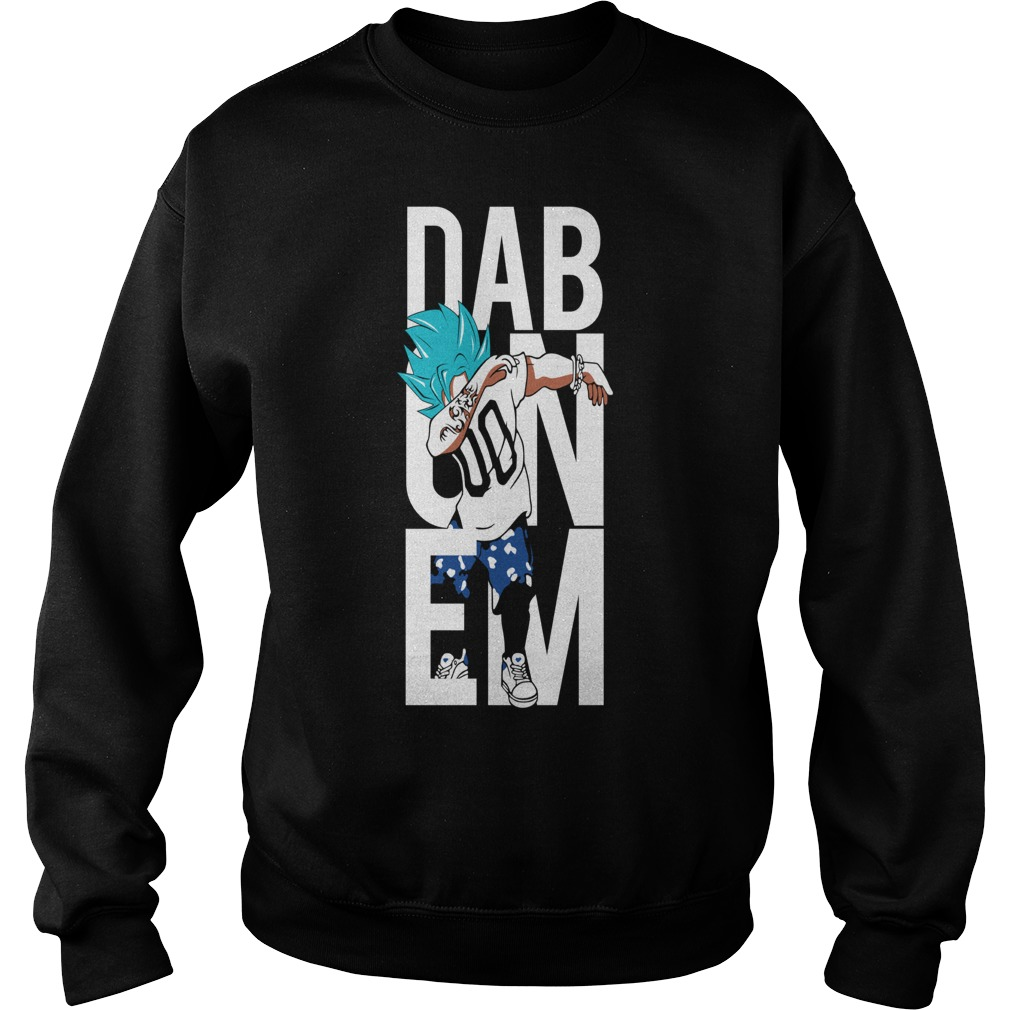 Super Saiyan Goku God Dab Sweater