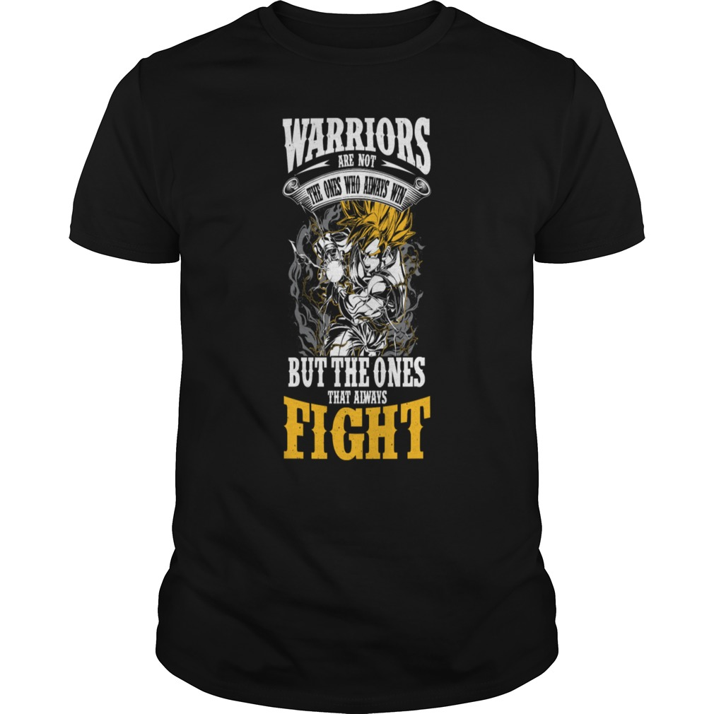 Super Saiyan Goku warriors shirt