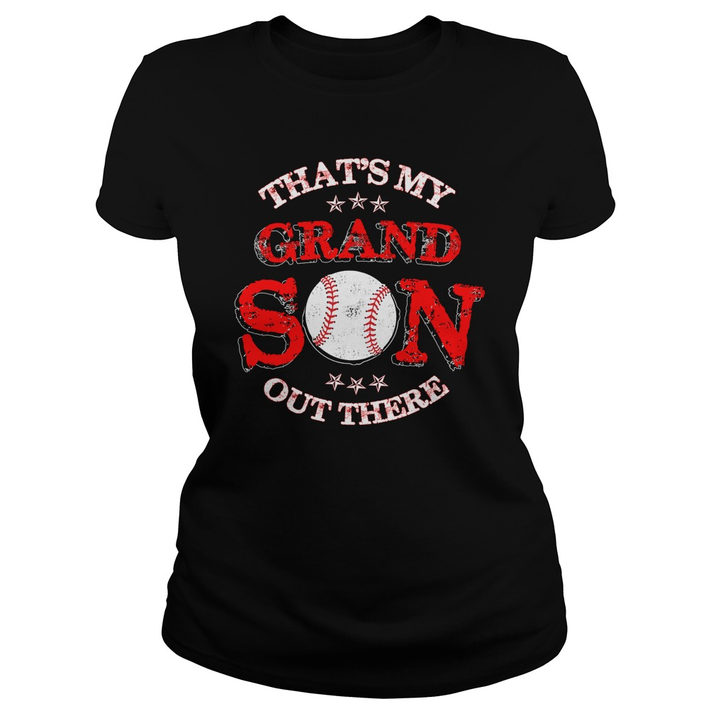 That's my grandson out there Ladies tee