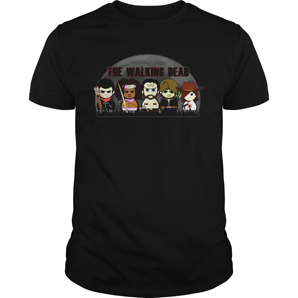The walking dead chibi shirt
