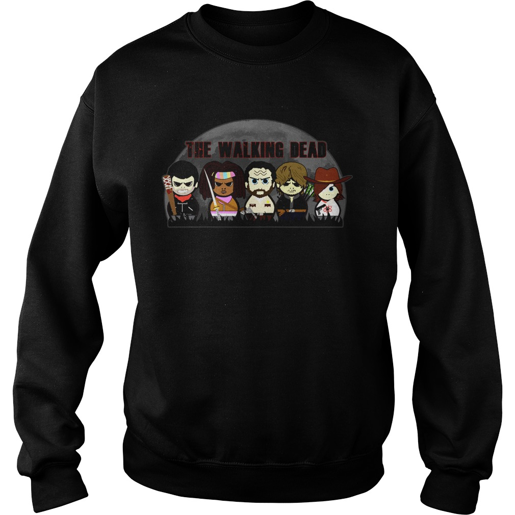 The walking dead chibi Sweater