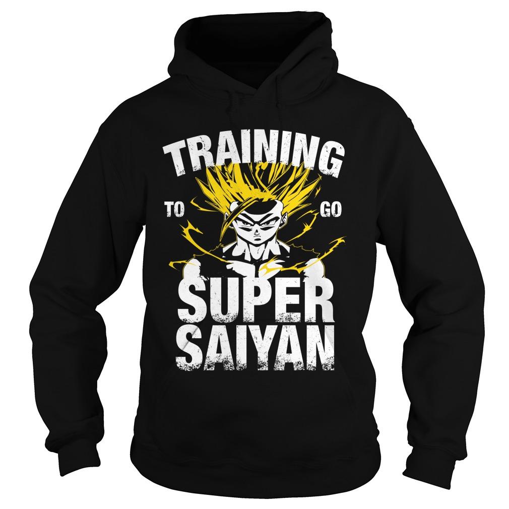 Training to go Super Saiyan – Gohan Hoodie