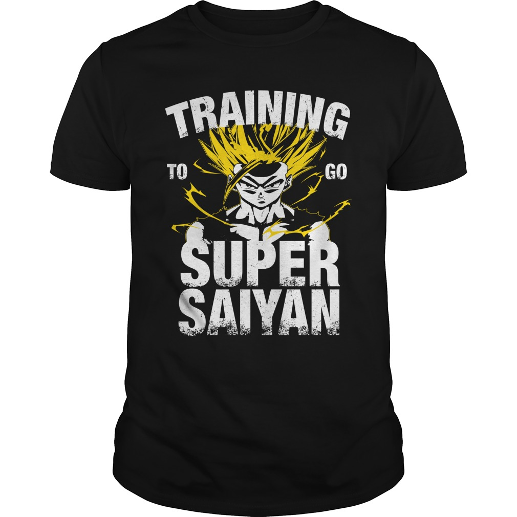 Training to go Super Saiyan – Gohan shirt