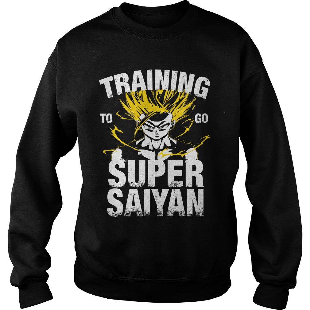 Training to go Super Saiyan – Gohan Sweater