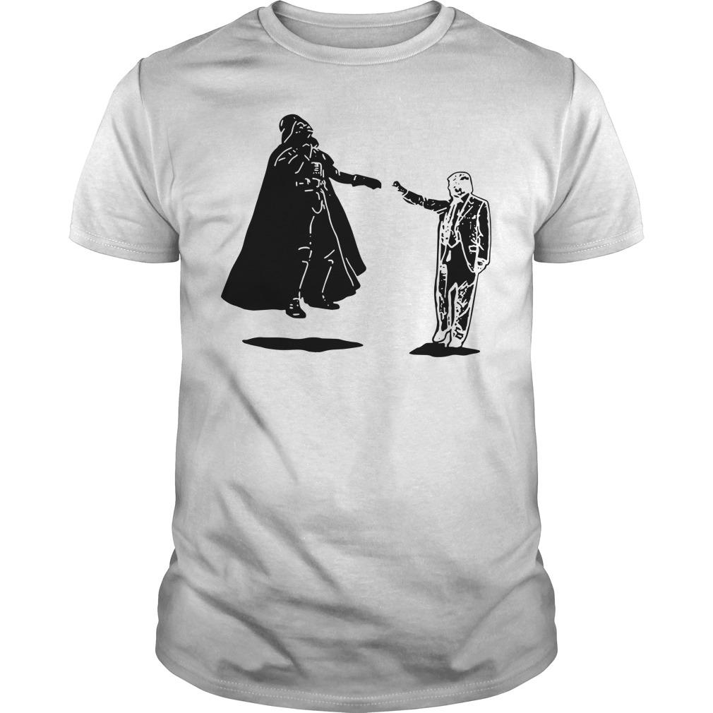 Star Wars: Official Donald Trump vs Darth Vader Shirt ...