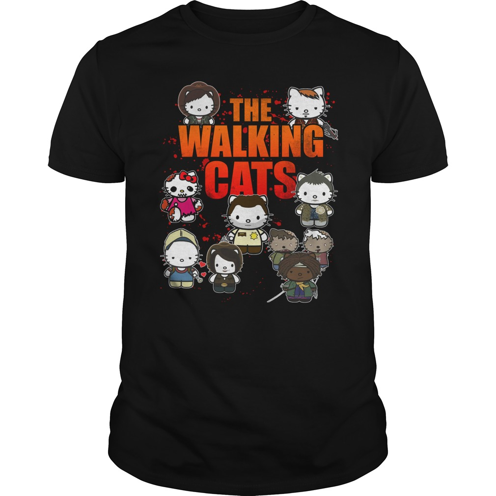 The Walking Cats shirt