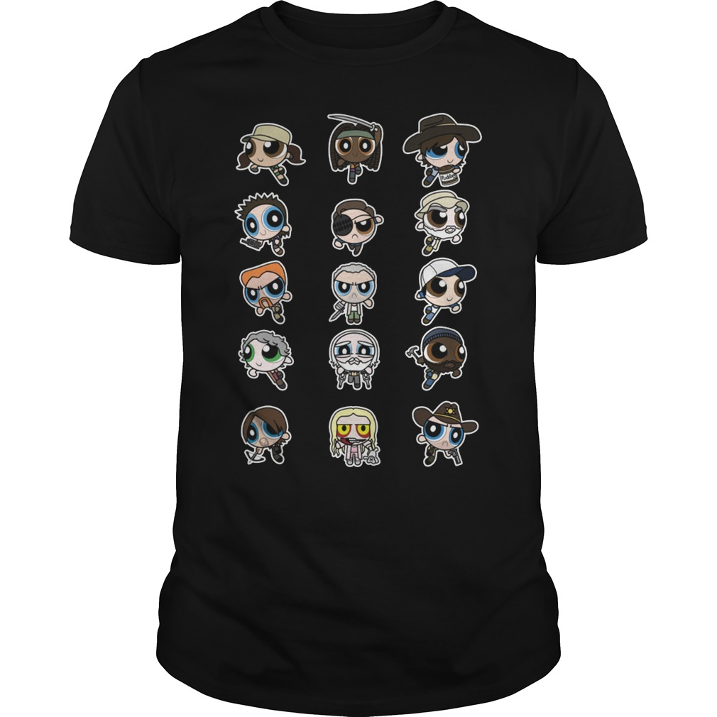 The Walking Dead character Chibi Guys shirt