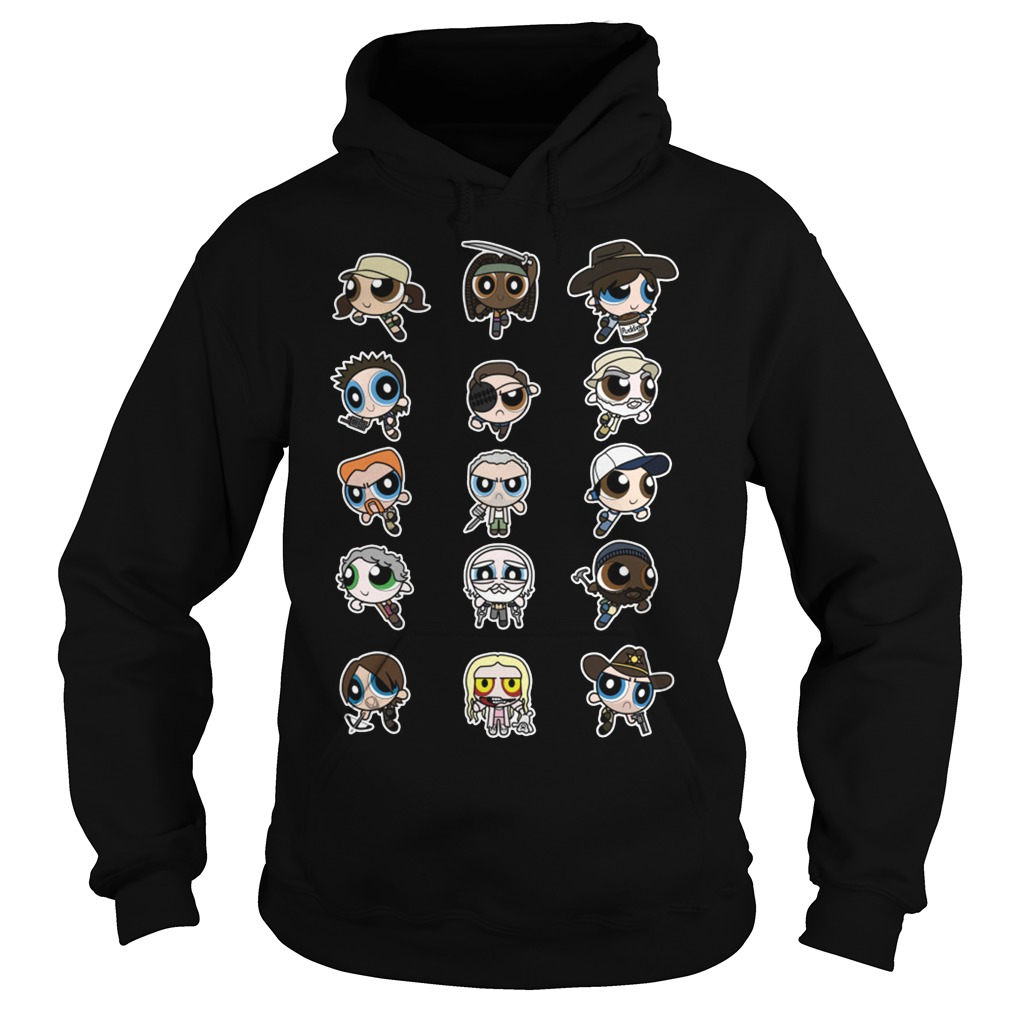 The Walking Dead character Chibi Hoodie