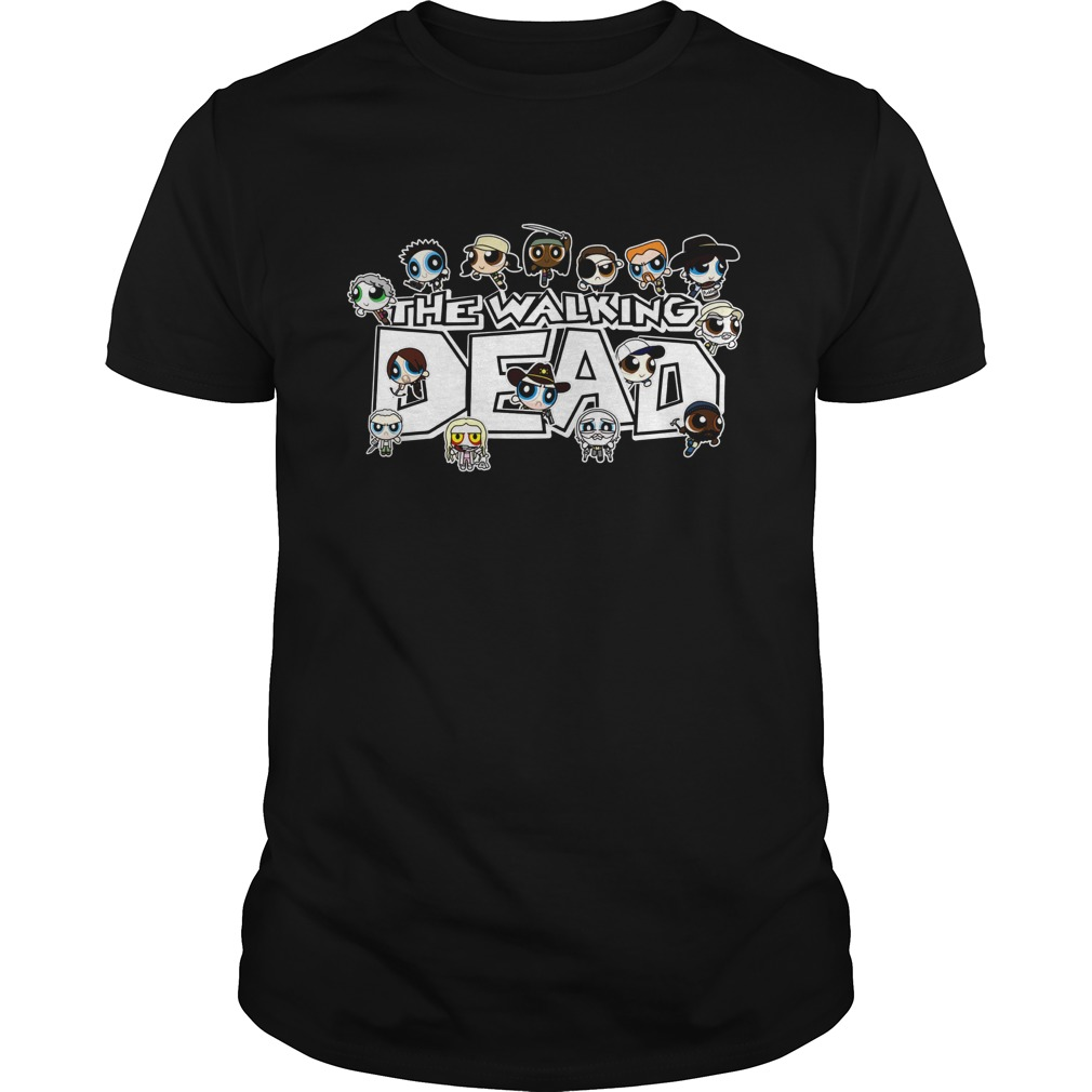 The Walking Dead character Chibi shirt