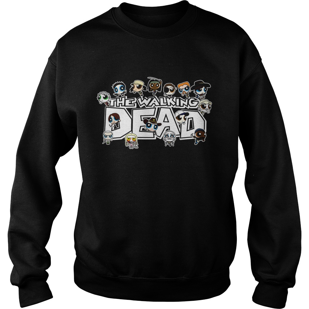 The Walking Dead character Chibi Sweater