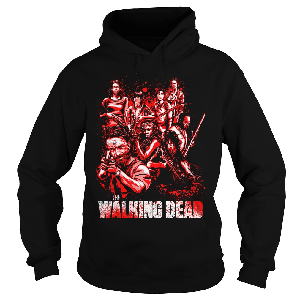 THe Walking Dead full character Hoodie