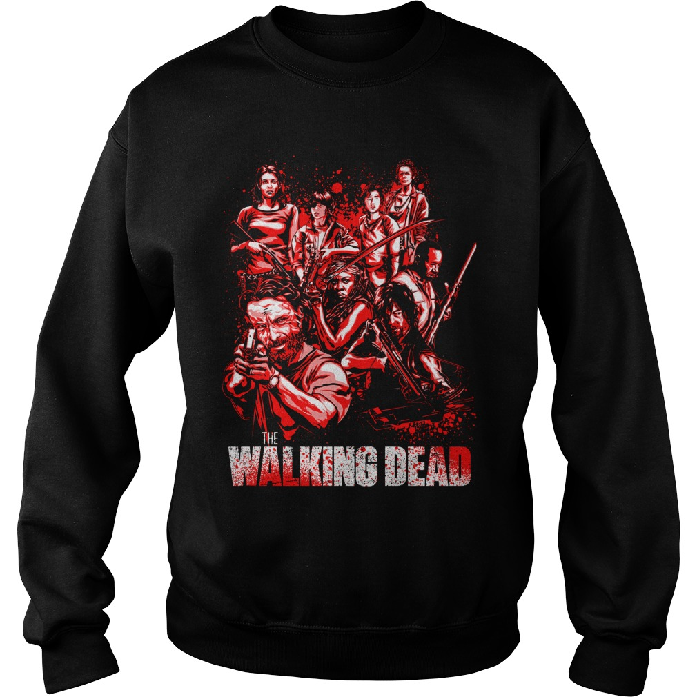 THe Walking Dead full character Sweater