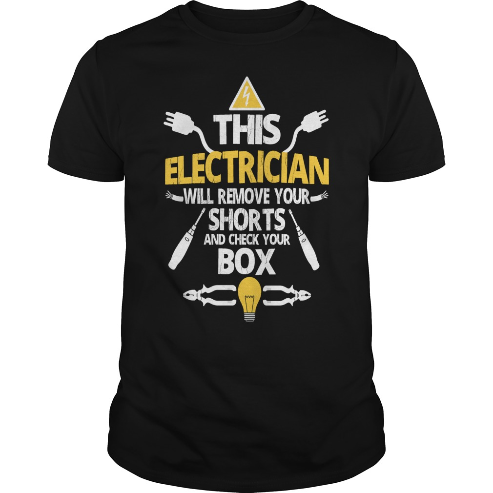 This will remove your shorts and check your box - Electrician shirt