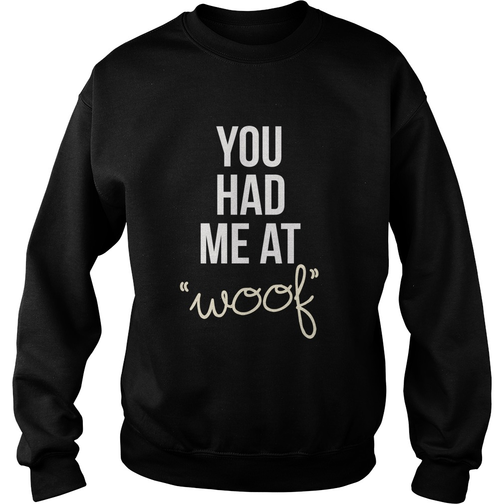 You had me at woof sweater