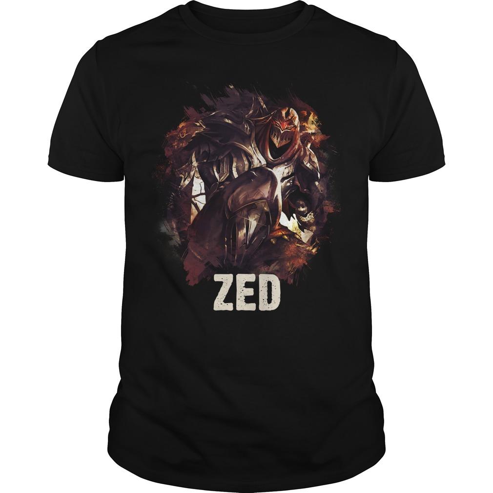 Zed League of Legends shirt