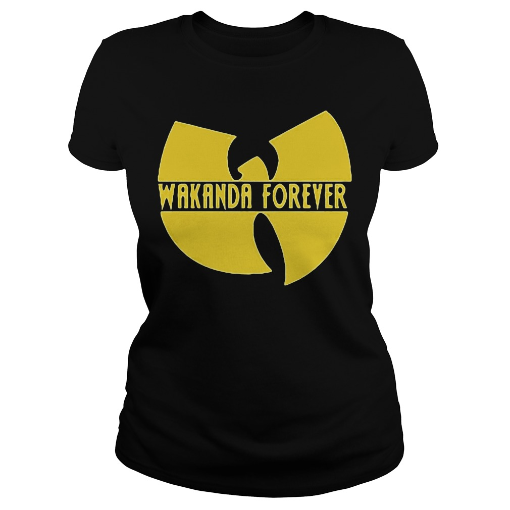 Black Panther Marvel Wakanda forever Ladies tee