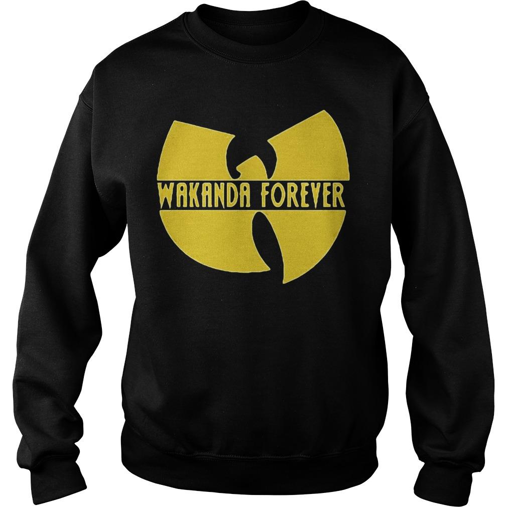Black Panther Marvel Wakanda forever Sweater