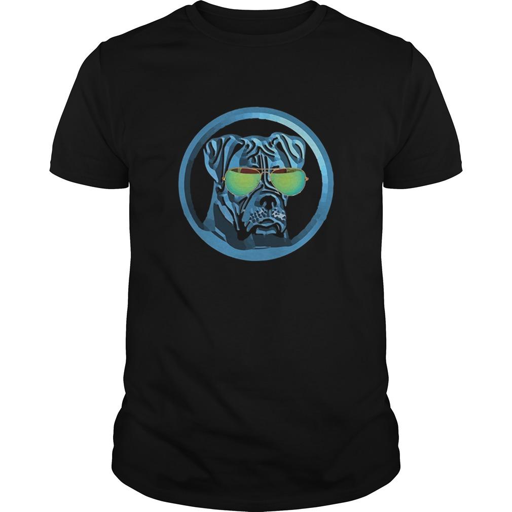 Boxer dog neon funny boxer shirt