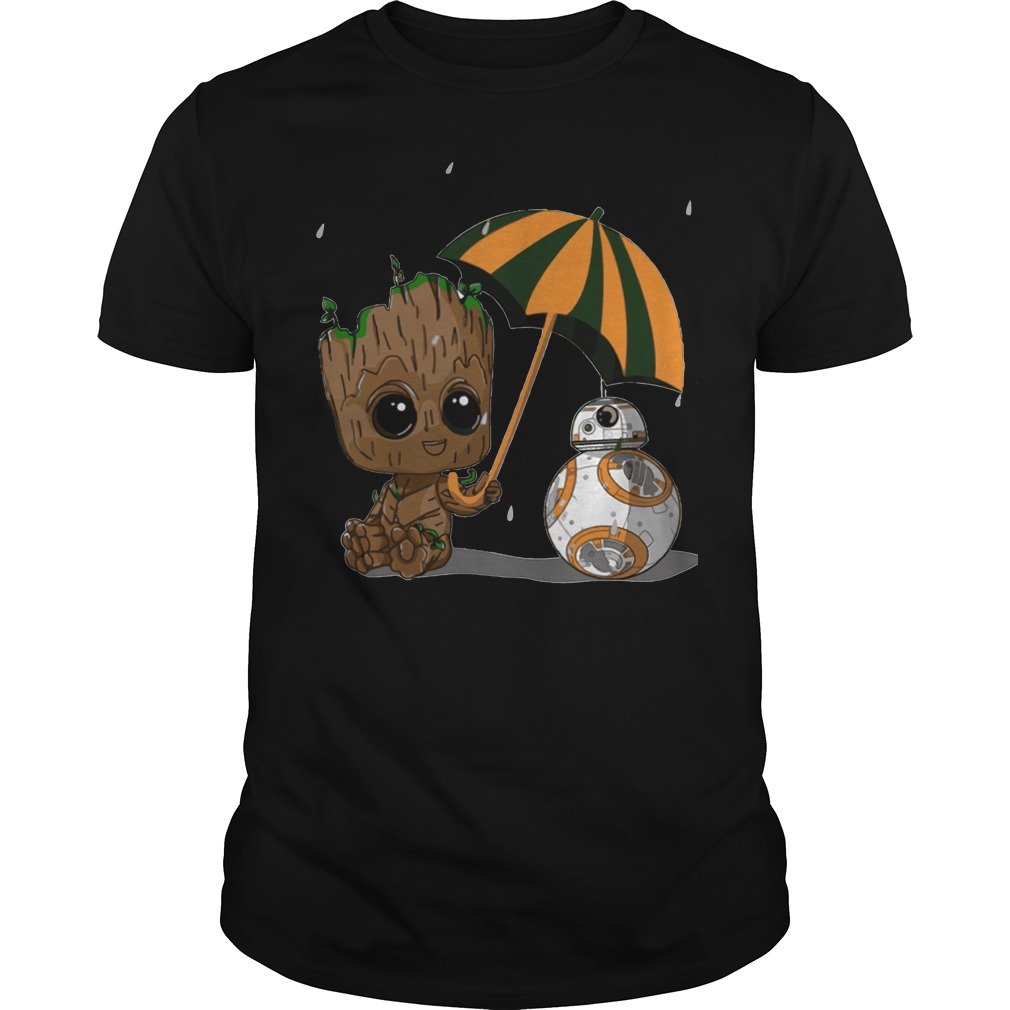 Groot and Bb8 shirt