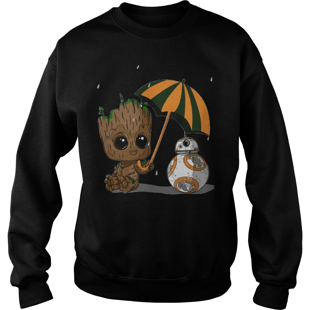 Groot and Bb8 Sweater