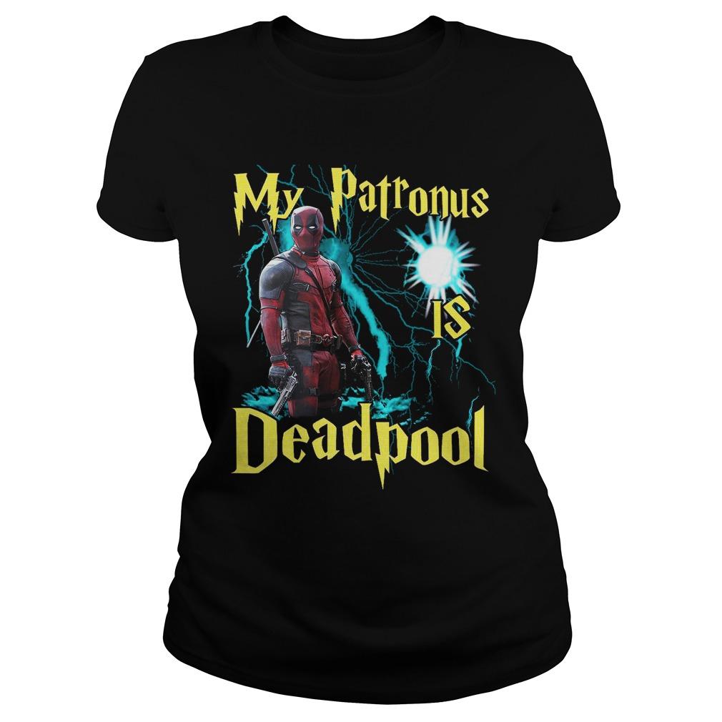My patronus is deadpool Ladies tee
