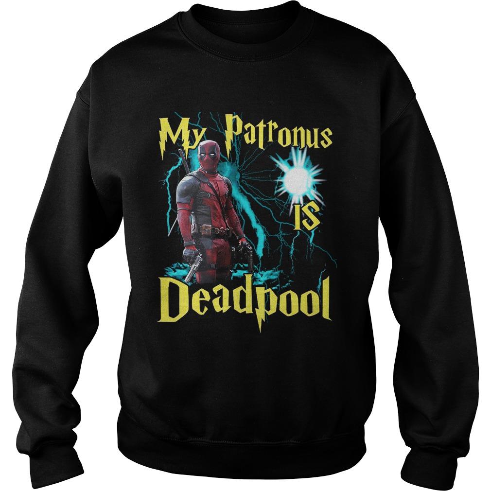 My patronus is deadpool Sweater