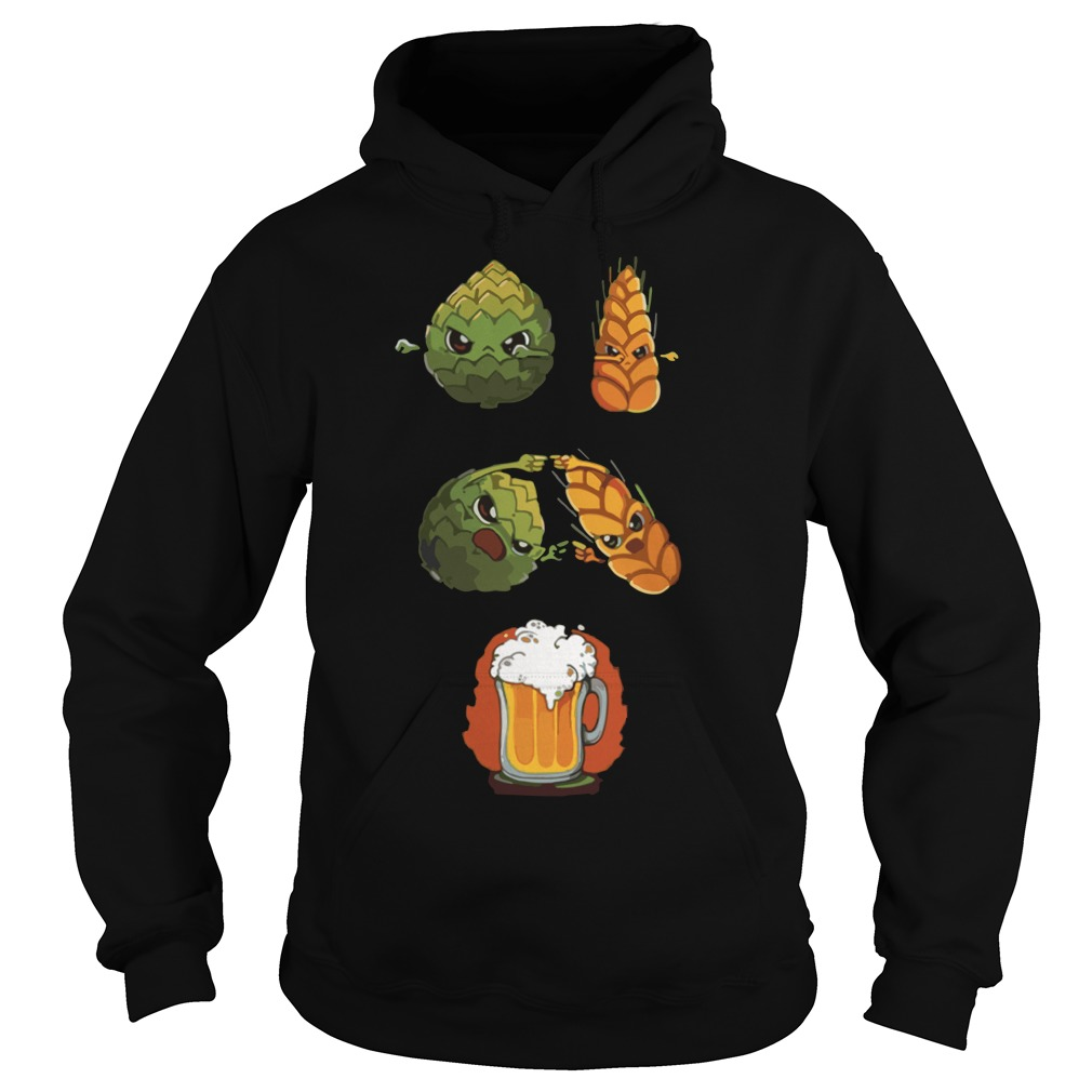 Offcial Dragon ball z hops fusion barley beer Hoodie