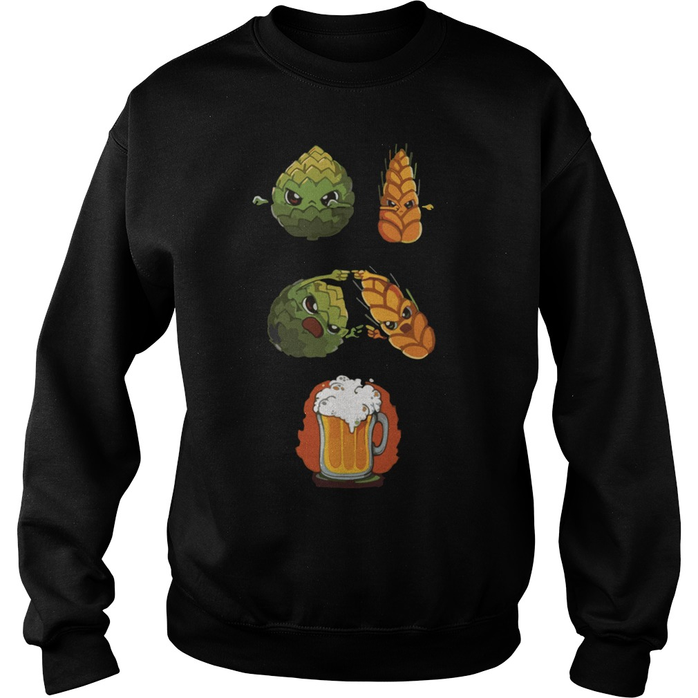 Offcial Dragon ball z hops fusion barley beer Sweater