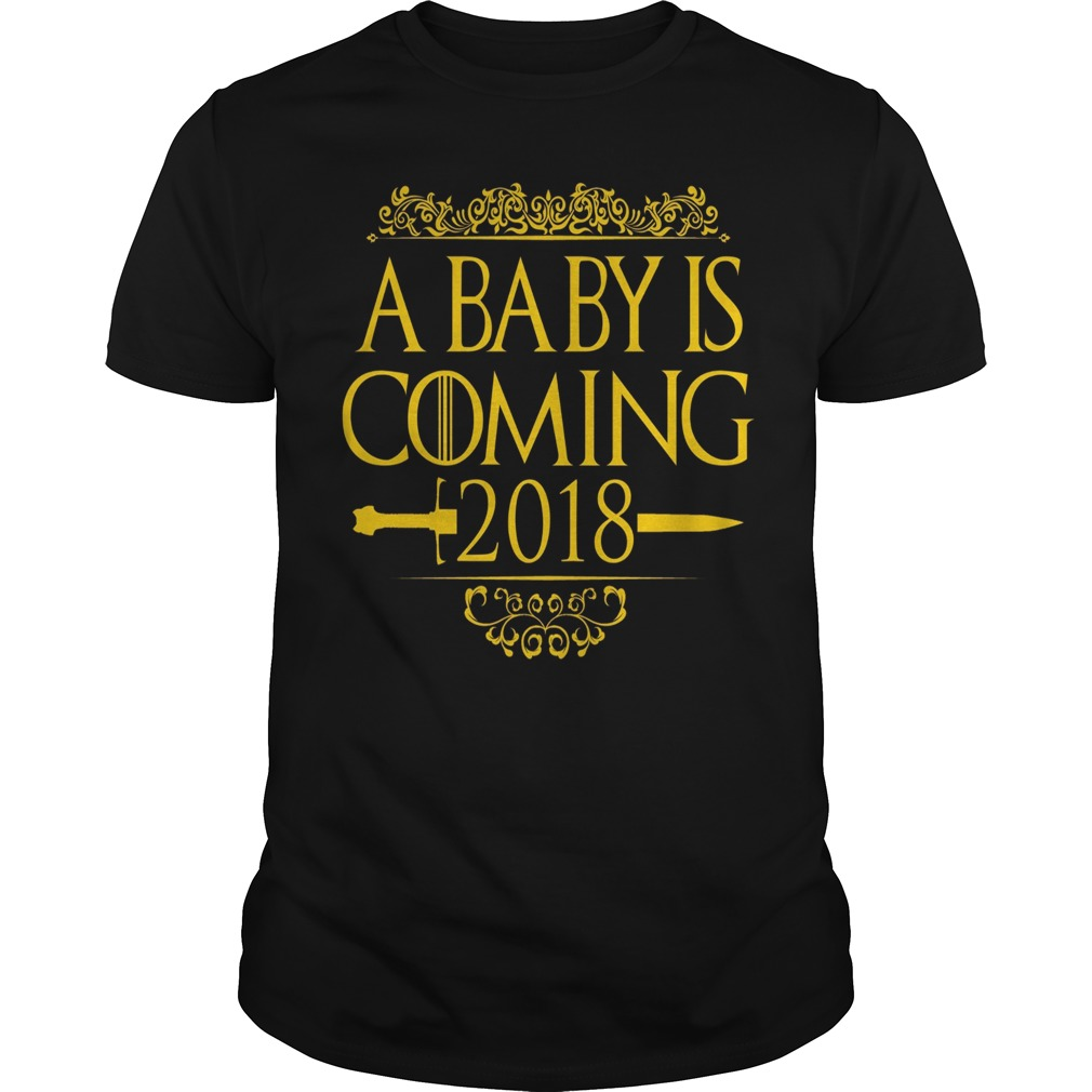 Official A baby is coming 2018 shirt