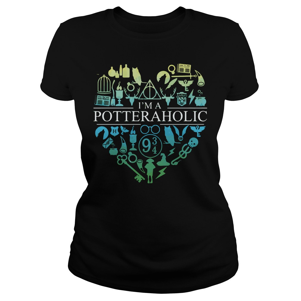 Official I'm a potteraholic Ladies tee