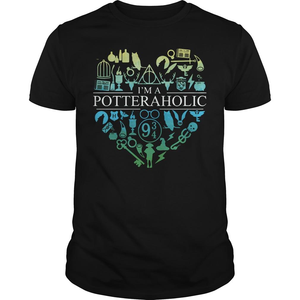 Official I'm a potteraholic shirt