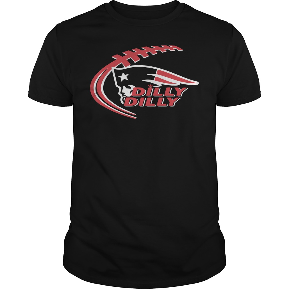 Official New England patriots dilly dilly shirt