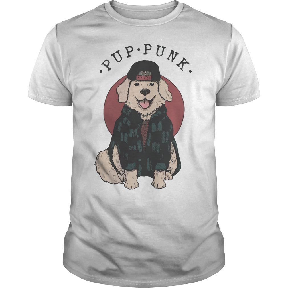 Official Pup punk pop punk dog shirt