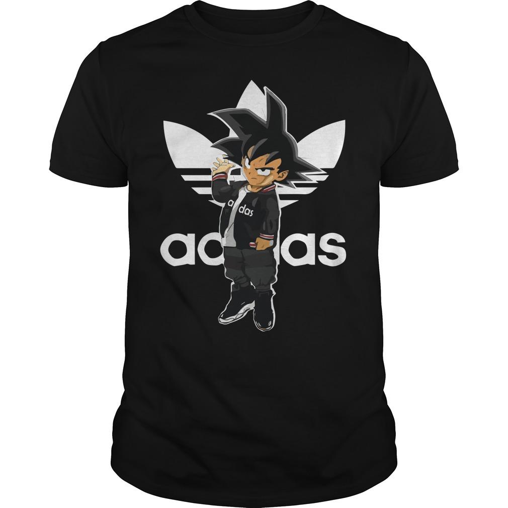 Saiyan Adidas goku adidas dragon ball BDZ 2018 shirt