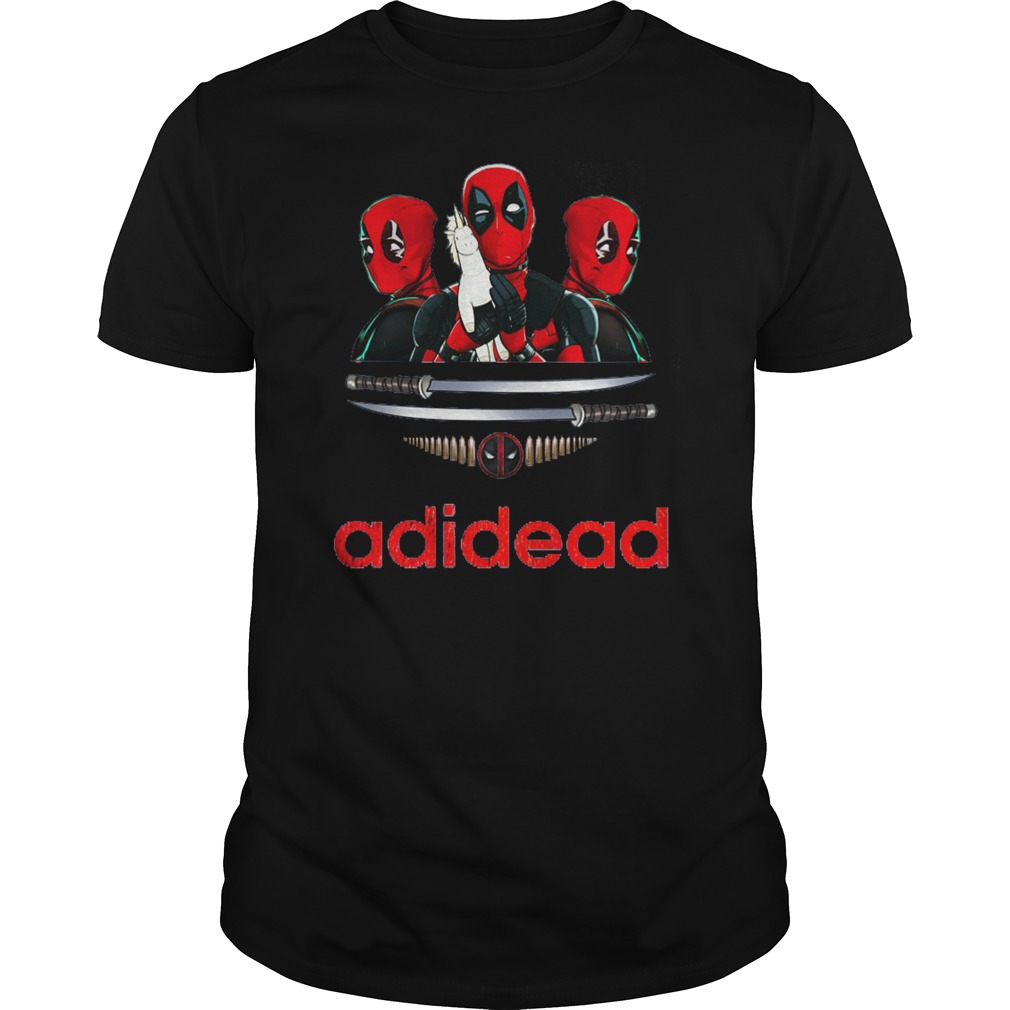Adidead lover Adidas Deadpool shirt