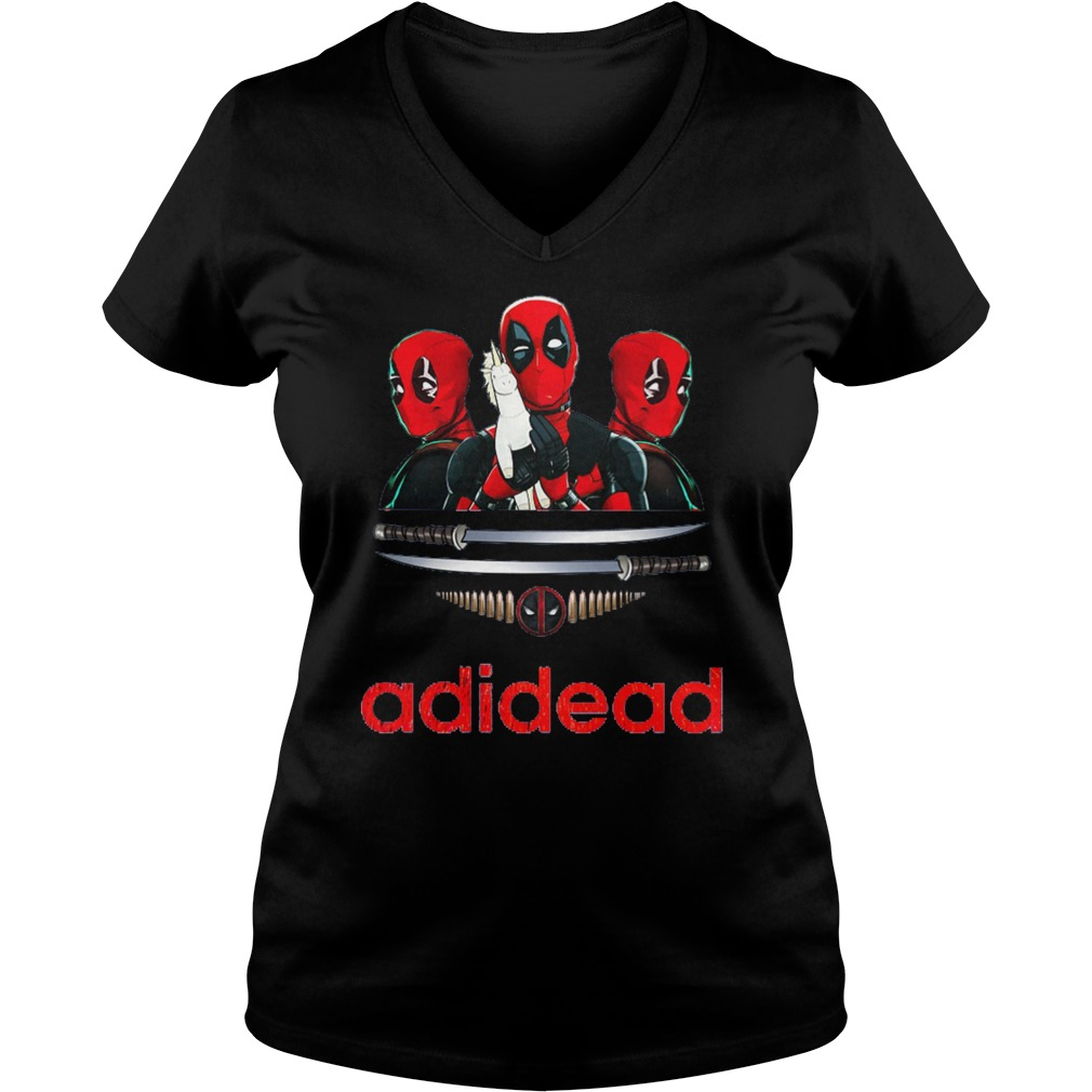 Adidead lover Adidas Deadpool V-neck t-shirt