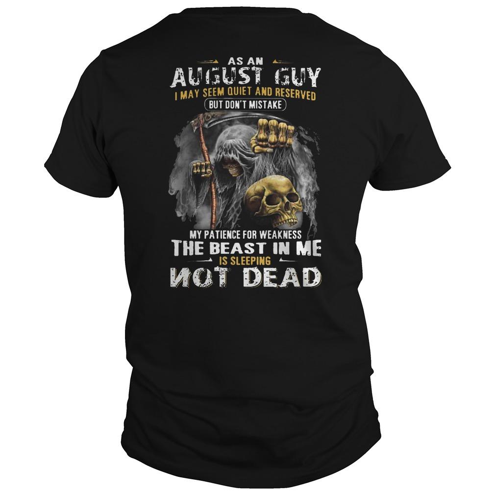 Death inside The beast in me is sleeping not dead shirt