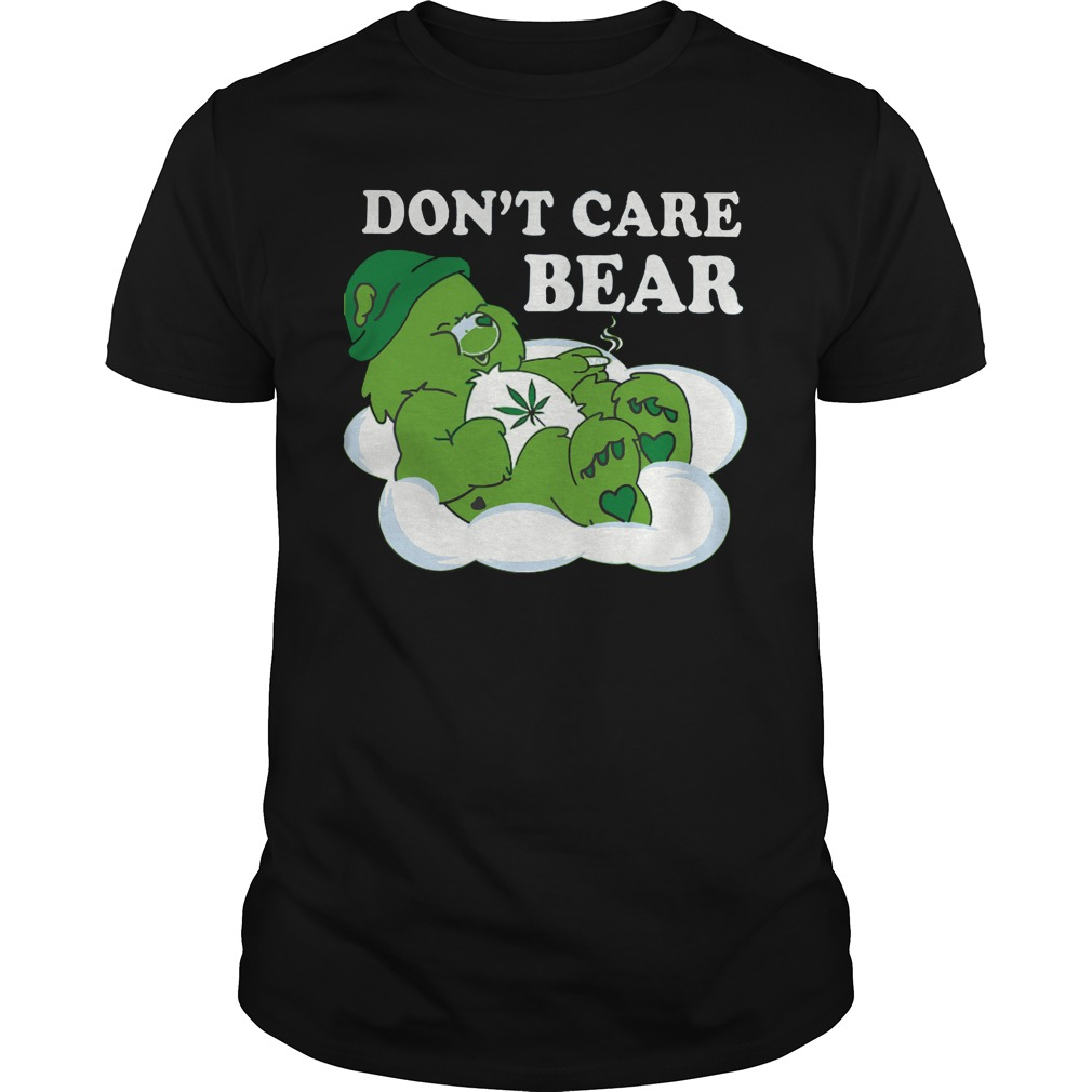 Don't Care Bear Patrick Day shirt