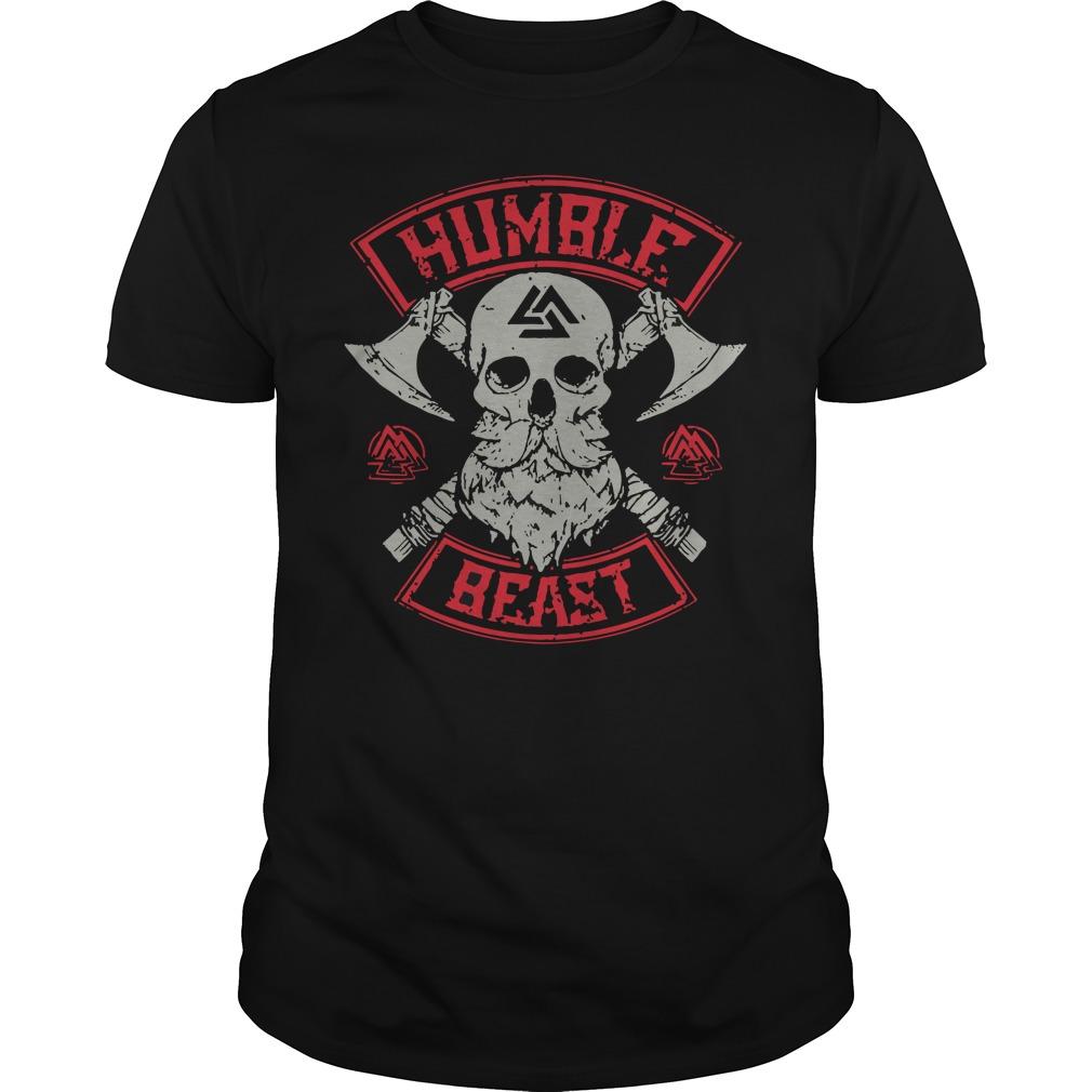 Humble holeax ace skull beast shirt