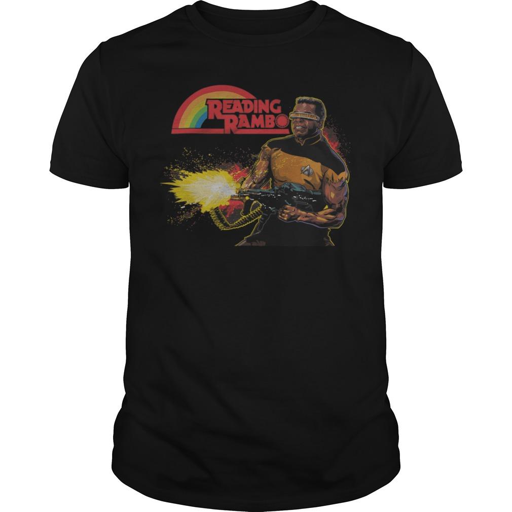 Reading Rambo shirt