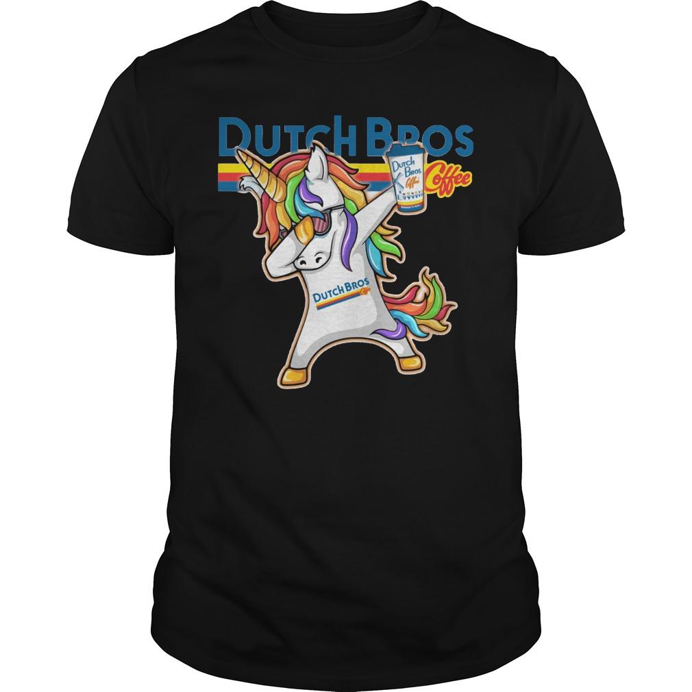 Unicorn Dutch Bros shirt