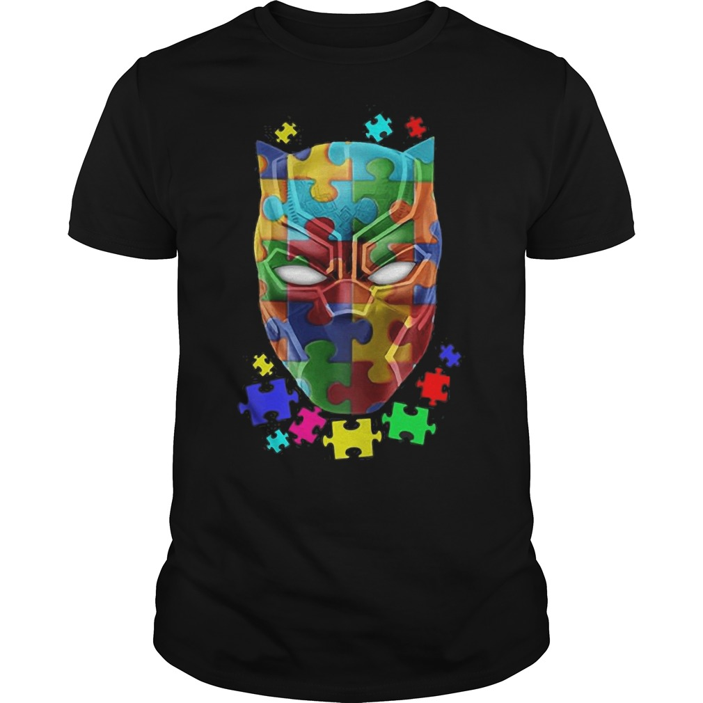 Black Panther Puzzle game shirt