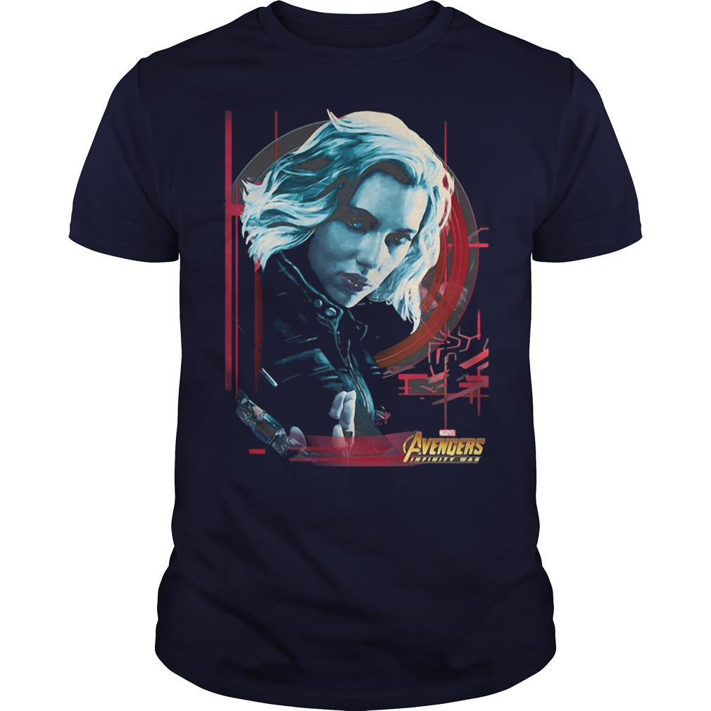Black Widow Avengers Shirt