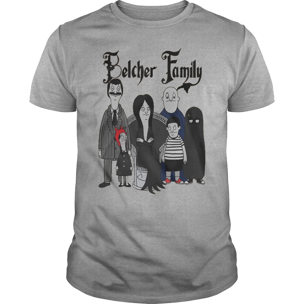Bob and Tina and Linda family in Belcher shirt